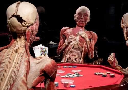 Jeff Moore 02/10/2018 THIS PICTURE IS FREE FOR EDITORIAL USE BODY WORLDS LONDON: WORLD'S BIGGEST TOURING EXHIBITION OPENS PERMANENT NEW HOME Opens 6 October, The London Pavilion, 1 Piccadilly Circus W1J 0DA Created by Dr Gunther von Hagens and curated by BODY WORLDS co-founder & his wife Dr Angelina Whalley An educational, interactive and fun insight into the human body The original anatomy museum to use real human bodies donated to be preserved by Plastination BODY WORLDS London opens this Saturday (6th October) creating a permanent London flagship for the world's most popular touring exhibition in the magnificent London Pavilion. The fusion of science, art and health education is one of the biggest new UK attractions to open in the past decade. Created by Dr Gunther von Hagens and his co-director and wife Dr Angelina Whalley, the museum represents a chance to make the most detailed ever journey around the human body, and features real bodies and body parts donated to be preserved by Dr von Hagens' patented 'plastination' technique, which replaces fat and water in cells with complex synthetics. Since launching in Japan BODY WORLDS has been a revolutionary force in terms of presenting the human body as art, bringing anatomical sciences to a wider audience, teaching the public in more detail than ever before about their bodies and how to look after them, and breaking the taboo which still hangs over society's notions of death. Health and education remain at the heart of BODY WORLDS London, with over 200 exhibits and displays exploring the ageing process, diet and cholesterol, the beating heart and cardiovascular systems, and pregnancy and reproduction, in more detail than has ever been previously possible. Healthy and diseased organs are shown side by side, allowing visitors to see how lifestyle choices affect the body. Interactive elements throughout the exhibition include a CPR display where visitors can learn how to save lives, a 'smoking