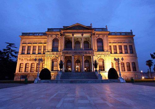 Dolmabahce Palace Panorama