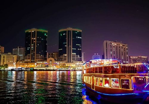 Dubai Dinner cruise
