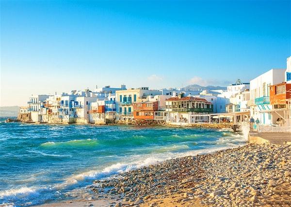 شهر عسل اليونان سانتوريني ميكونوس اثينا